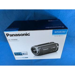 Panasonic - Panasonic フルHDビデオカメラ HC-W580M-W  付属品多数