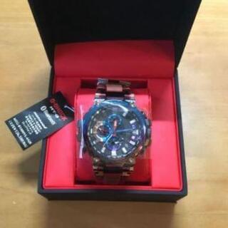 【G-SHOCK】MT-G 電波ソーラー 火山雷デザイン【新品・未使用】(腕時計(アナログ))