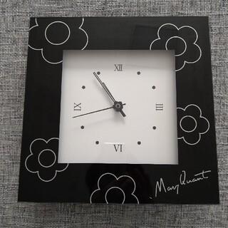 マリークワント(MARY QUANT)のマリークワント 2WAYクロック 難あり(置時計)