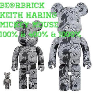 メディコムトイ(MEDICOM TOY)のベアブリック Keith Haring Mickey 100%400%1000%(その他)