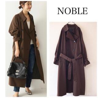 Noble - 美品 タスランギャバ トレンチコート