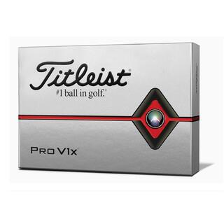 タイトリスト(Titleist)の新品!タイトリスト プロV1x ゴルフボール ホワイト 1ダース12個(その他)