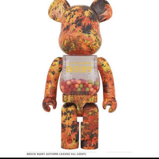 MY FIRST BE@RBRICK AUTUMN LEAVES 1000%(その他)