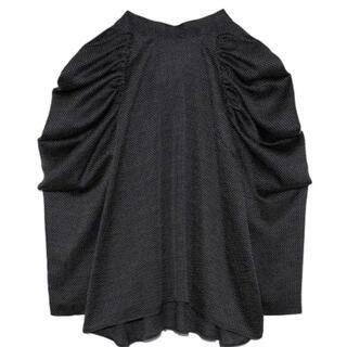 フレイアイディー(FRAY I.D)のブラック 38(Tシャツ(半袖/袖なし))