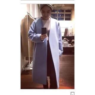 ENFOLD - マリソル掲載 金子綾さんコラボコート フレームワーク店舗限定カラー ブルー