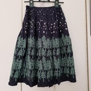 mina perhonen - ミナペルホネン/伊勢丹限定hoshi*hana×land theaterスカート