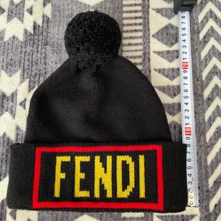 FENDI - 正規品 FENDI/ニット帽☆FENDI LOVEフェンディ