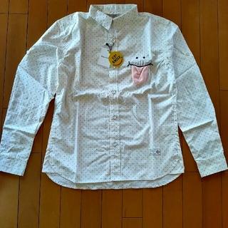 アップスタート(UPSTART)のアップスタート ドットシャツ Lサイズ(シャツ)