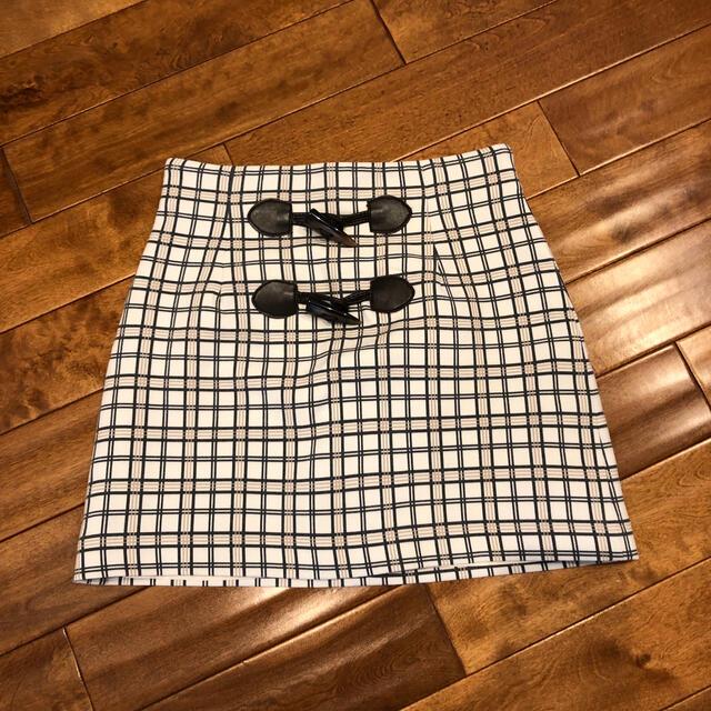 dazzlin(ダズリン)のdazzlin ダブルチェック ミニスカート レディースのスカート(ミニスカート)の商品写真