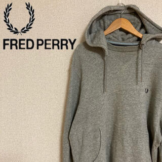 FRED PERRY - FRED PERRY フレッドペリー パーカー グレー メンズ