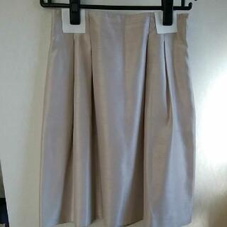 エムプルミエ(M-premier)のエムプルミエ クチュール フレアスカート(ひざ丈スカート)