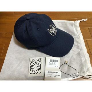 ロエベ(LOEWE)の【新品】ロエベ キャンバスキャップ 帽子 LOEWE CAP(キャップ)