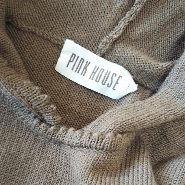PINK HOUSE(ピンクハウス)のピンクハウス フード付きセーター レディースのトップス(ニット/セーター)の商品写真