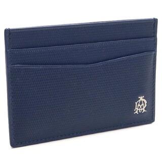ダンヒル(Dunhill)のダンヒル DUNHILL カードケース L2AE40D ブルー メンズ(名刺入れ/定期入れ)
