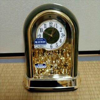 CITIZEN - CITIZEN シチズン 電波時計 結婚祝い新築祝い出産祝い 置き時計 メロディ