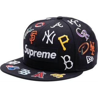 シュプリーム(Supreme)のSupreme MLB New Era Navy 7-3/8(キャップ)