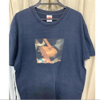 シュプリーム(Supreme)のシュプリーム XL Tシャツ ネイビー レア 廃盤ヴィンテージ (Tシャツ/カットソー(半袖/袖なし))