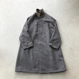 COMOLI - [ANATOMICA]SINGLE RAGLAN COAT Ⅱ リバーシブル