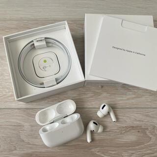Apple - airpods pro 本体 イヤホン 美品 エアポッズ apple 正規品