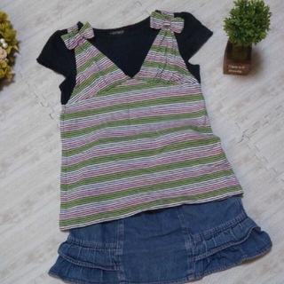 イーストボーイ(EASTBOY)の【美品】【EASTBOY】 Tシャツ 120(Tシャツ/カットソー)
