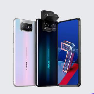 エイスース(ASUS)の国内SIMフリー 新品未開封 ZenFone 7 Pro オーロラブラック(スマートフォン本体)