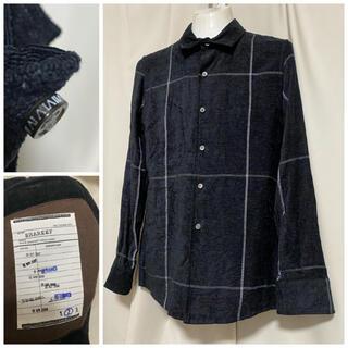 SHAREEF - 定価25300円 SHAREEF シャリーフ レーヨンチェックシャツ 2 M