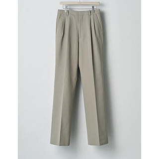 COMOLI - auralee HARD TWIST DOUBLE CLOTH SLACKS