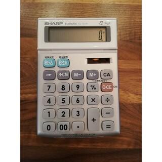 シャープ(SHARP)のSHARP 電卓 ELSI MATE EL-134H(オフィス用品一般)