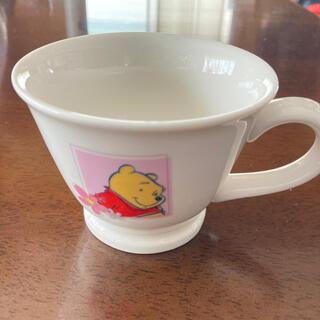 クマノプーサン(くまのプーさん)のプーさん マグカップ(グラス/カップ)