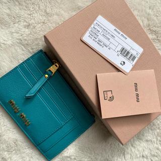 miumiu - miumiuカードケース