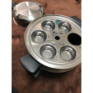 アムウェイ(Amway)のアムウェイクイーン 6L蒸し器兼用シチューパン(鍋/フライパン)