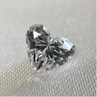 ハートシェイプ  ダイヤモンド ルース 0.693ct D VS1 ダイヤ