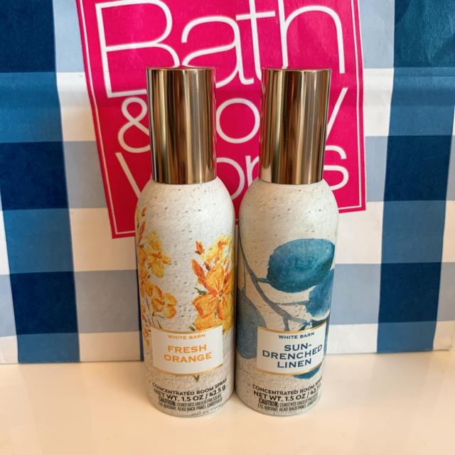 Bath & Body Works(バスアンドボディーワークス)の【最新作新品】バスアンドボディワークス ルームスプレー 1本 コスメ/美容のリラクゼーション(アロマポット/アロマランプ/芳香器)の商品写真