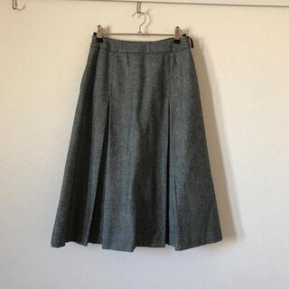 クミキョク(kumikyoku(組曲))の組曲 ウール43% グレースカート(ひざ丈スカート)