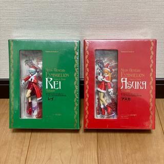 角川書店 - 新世紀エヴァンゲリオン 7巻 フィギュア付き初回完全限定版 レイ・アスカ セット