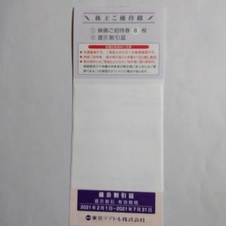 東京テアトル 株主優待券 8枚(その他)