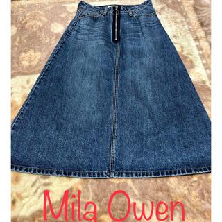 Mila Owen - ミラオーウェン デニムスカート