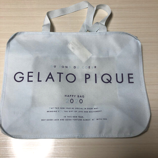 gelato pique - ジェラートピケ 福袋 新品 バッグのみ 2020年 サブバッグ