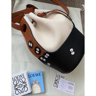 LOEWE - Loeweロエベ バルーンバッグ まっくろくろすけ トトロ ダブルネーム