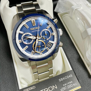 SEIKO - 新品未使用 限定品!SEIKO ASTRONセイコーアストロンGPSソーラー時計