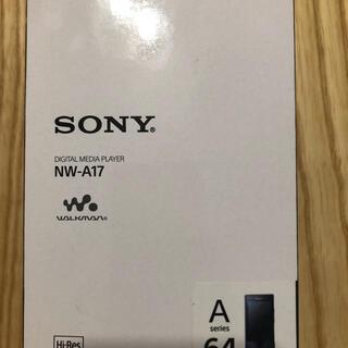 ウォークマン(WALKMAN)の【新品未使用品】SONY ウォークマン 64GB(ポータブルプレーヤー)