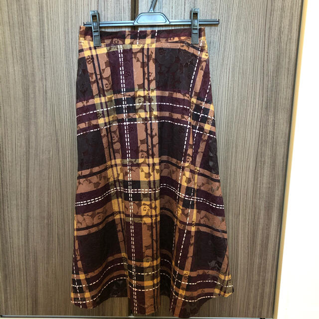 tocco(トッコ)のトッコクローゼット チェック ロングスカート レディースのスカート(ロングスカート)の商品写真