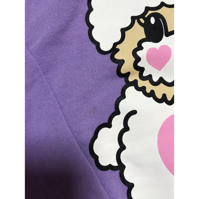 EARTHMAGIC(アースマジック)のアースマジック ぬいぐるみ マフィー フード パーカー キッズ/ベビー/マタニティのキッズ服女の子用(90cm~)(ジャケット/上着)の商品写真
