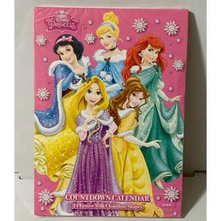 ディズニー(Disney)のディズニープリンセス カウントダウンカレンダー チョコレート(菓子/デザート)