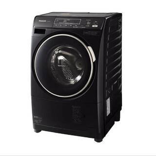 Panasonic - ドラム式洗濯機 プチドラム 人気のブラック ワンルーム マンションサイズ