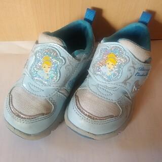 ディズニー(Disney)のDisney ディズニープリンセス シンデレラ スニーカー 靴 14cm 女の子(スニーカー)