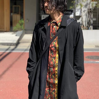 Yohji Yamamoto - ヨウジヤマモト プールオム ボタニカルジャカード 刺繍シャツ
