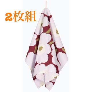 marimekko - マリメッコ ティータオル 2枚組