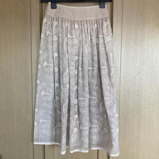 mina perhonen(ミナペルホネン)のミナペルホネン タンポポ チュールスカート レディースのスカート(ロングスカート)の商品写真