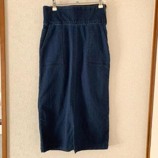 シマムラ(しまむら)のデニム タイトスカート しまむら ジーユー GU(ひざ丈スカート)